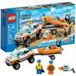 לגו סיטי LEGO 4x4 & Diving Boat 60012