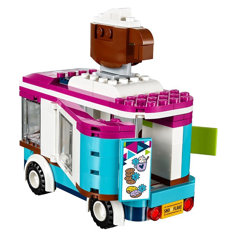 לגו חברות LEGO Snow Resort Hot Chocolate Van 41319