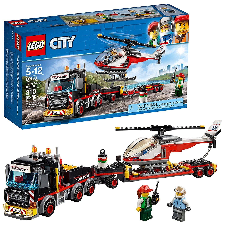 לגו מגה סטור סיטי LEGO Heavy Cargo Transport 60183