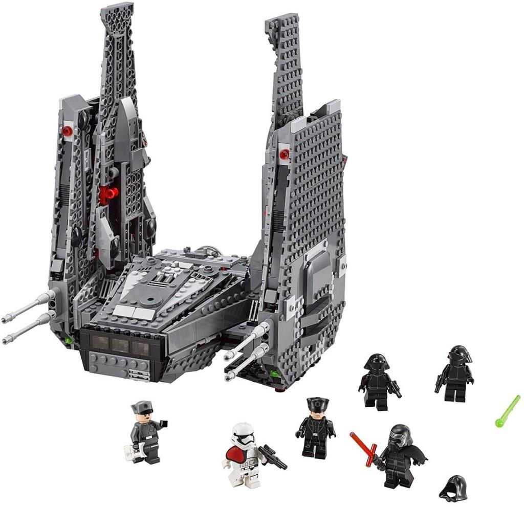 לגו מלחמת הכוכבים LEGO Kylo Ren's Command Shuttle 75104