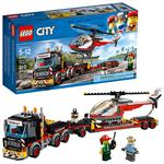 לגו סיטי LEGO Heavy Cargo Transport 60183