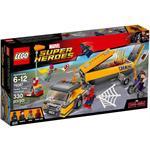 לגו גיבורי על LEGO Tanker Truck Takedown 76067