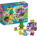 לגו דופלו LEGO Doc McStuffins Rosie the Ambulance 10605