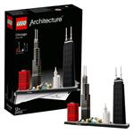 לגו מגה סטור ארכיטקטורה LEGO Chicago 21033