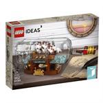 לגו רעיונות LEGO Ship in a Bottle 92177