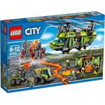 לגו סיטי LEGO Volcano Heavy-Lift Helicopter 60125