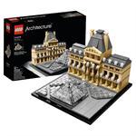לגו ארכיטקטורה LEGO Louvre 21024