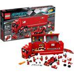 לגו אלופי המירוצים LEGO F14 T & Scuderia Ferrari Truck 75913