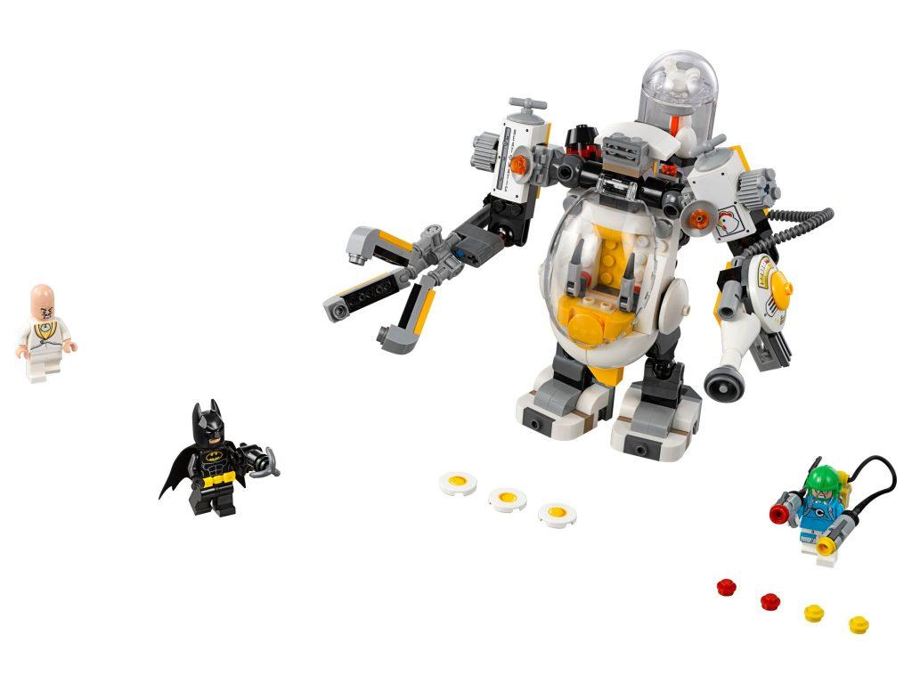 לגו סרט הבאטמן LEGO Egghead Mech Food Fight 70920