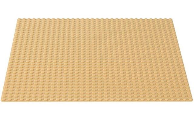 לגו קלאסיק LEGO 32x32 Sand Baseplate 10699