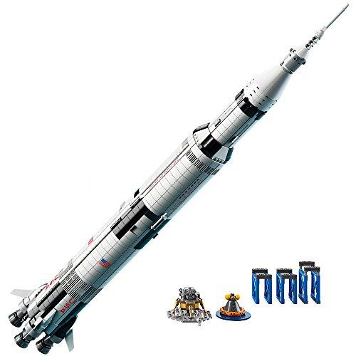 לגו מגה סטור רעיונות LEGO NASA Apollo Saturn V 21309