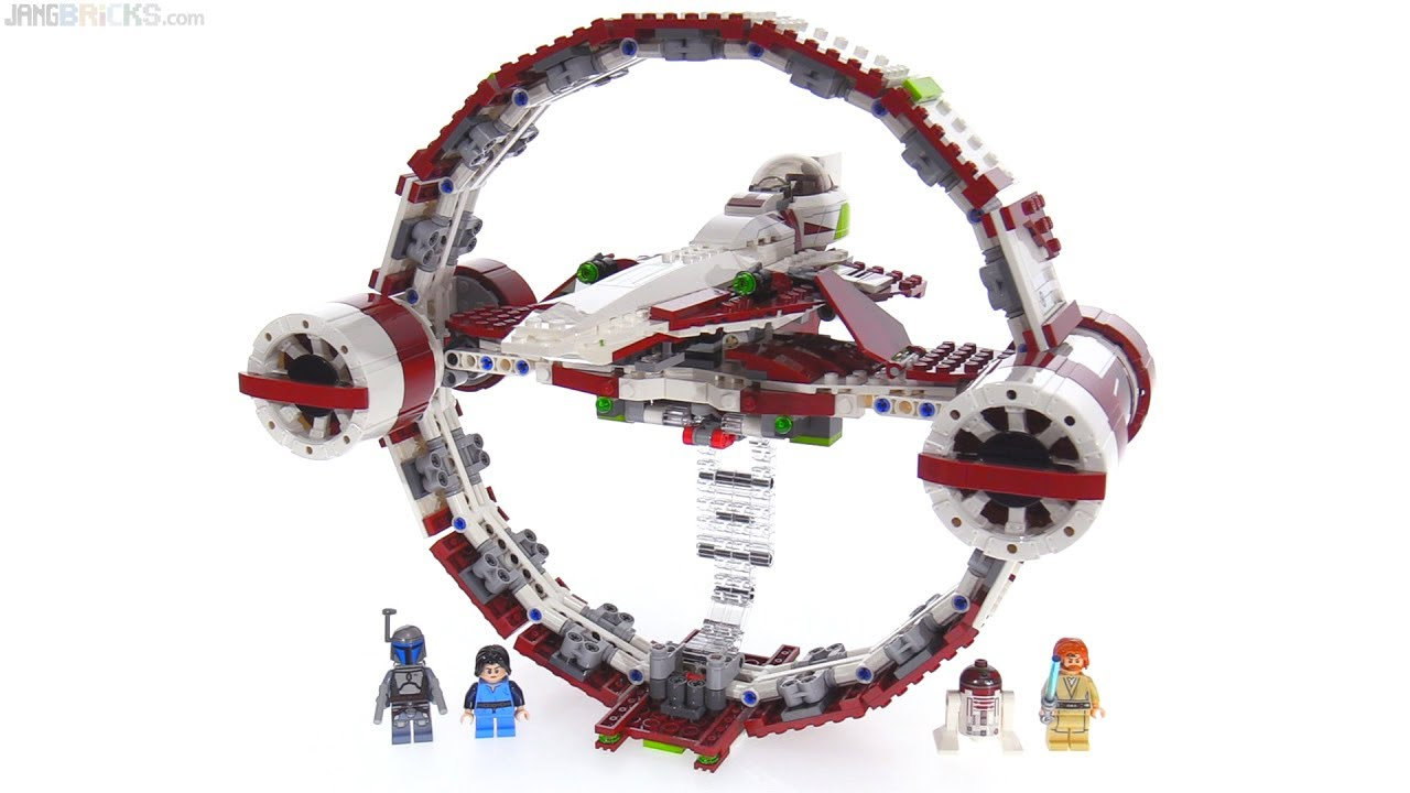 לגו מלחמת הכוכבים LEGO Jedi Starfighter With Hyperdrive 75191