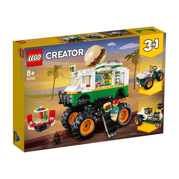 LEGO Monster Burger Truck 31104 לגו מגה סטור Creator