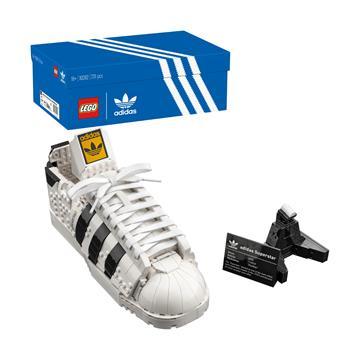 לגו מגה סטור רעיונות LEGO Adidas Originals Superstar 10282