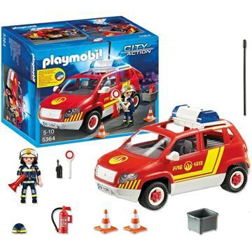 פליימוביל סיטי אקשן PLAYMOBIL Fire Chief  5364