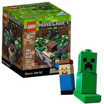 לגו מגה סטור מיינקראפט LEGO Minecraft Micro World: The Forest 21102