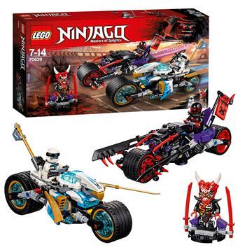 לגו מגה סטור נינג'גו LEGO Street Race of Snake Jaguar 70639