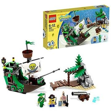לגו בובספוג LEGO The Flying Dutchman 3817
