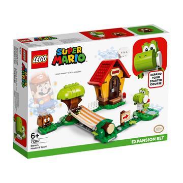 לגו מגה סטור סופר מריו LEGO Mario's House & Yoshi Expansion Set 71367