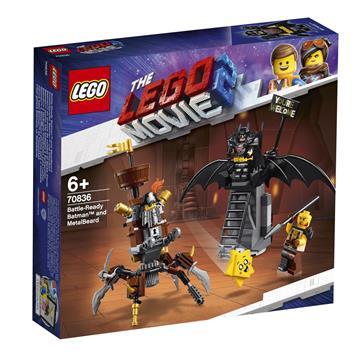 LEGO Battle-Ready Batman and MetalBeard 70836 לגו מגה סטור סרט הלגו 2
