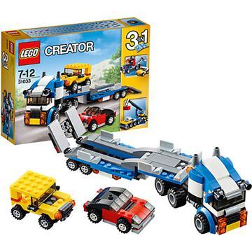 לגו קריאייטור LEGO Vehicle Transporter 31033