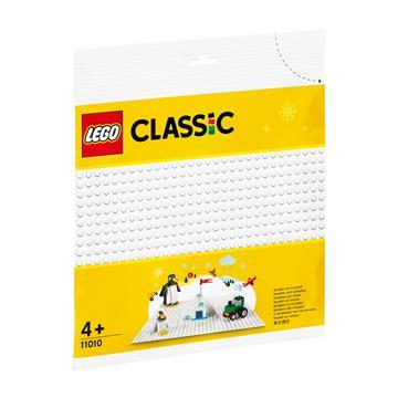 לגו מגה סטור קלאסיק LEGO White Baseplate 11010