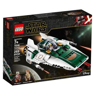 לגו מגה סטור מלחמת הכוכבים LEGO Resistance A-wing Starfighter 75248