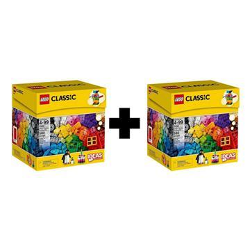 מבצע מדהים!!! לגו קלאסיק  LEGO Creative Building Box 10695 1+1