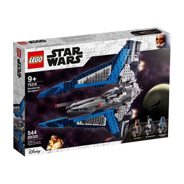 לגו מגה סטור מלחמת הכוכבים 75316 LEGO Mandalorian Starfighter