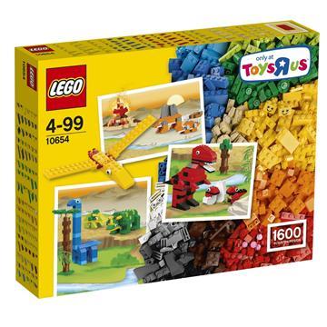 לגו קלאסיק LEGO XL Creative Brick Box 10654