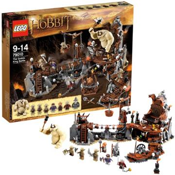 לגו הוביט LEGO The Goblin King Battle 79010