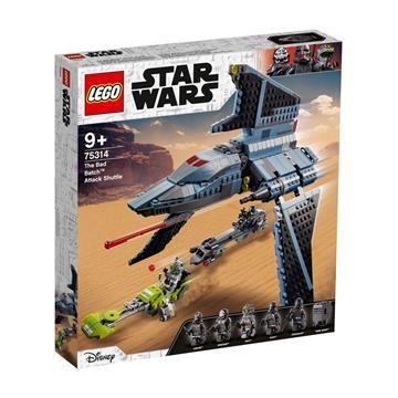 לגו מגה סטור מלחמת הכוכבים LEGO The Bad Batch Attack Shuttle 75314