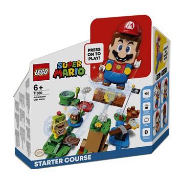 לגו מגה סטור סופר מריו LEGO Adventures with Mario Starter Course 71360