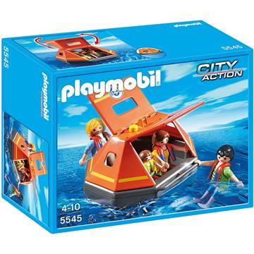 פליימוביל סיטי אקשן PLAYMOBIL Coastguard Life Raft 5545