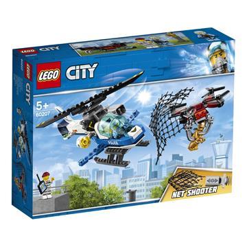 LEGO Sky Police Drone Chase 60207 CITY לגו מגה סטור