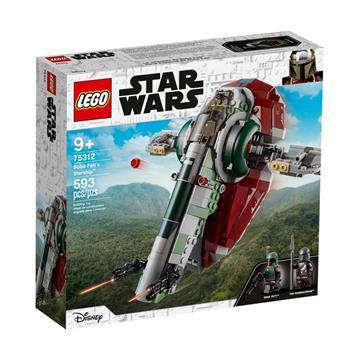 לגו מגה סטור מלחמת הכוכבים LEGO Boba Fett's Starship 75312