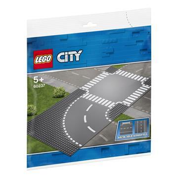 לגו מגה סטור קלאסיק LEGO Curve and Crossroad 60237