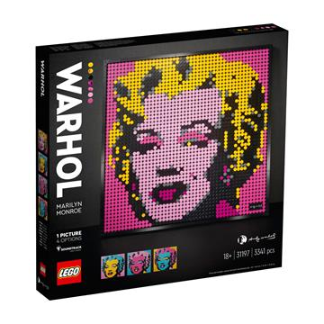 לגו מגה סטור ART 31197 LEGO Andy Warhol's Marilyn Monroe