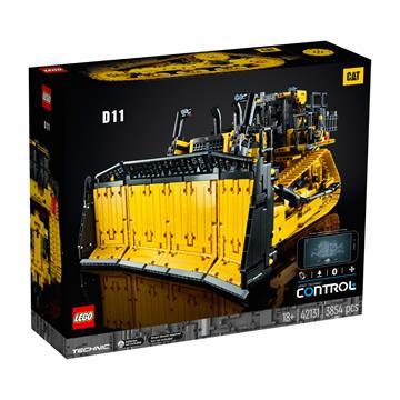 לגו מגה סטור Technic 42131 LEGO App-Controlled Cat D11 Bulldozer