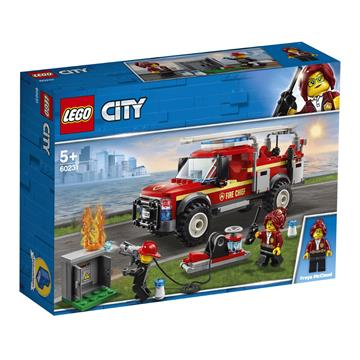 LEGO Fire Chief Response Truck 60231 לגו מגה סטור סיטי