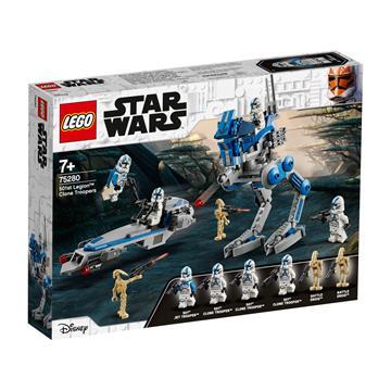 לגו מגה סטור מלחמת הכוכבים 75280 LEGO 501st Legion Clone Troopers