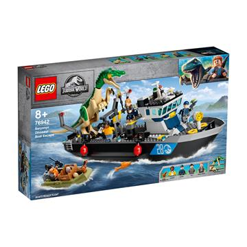 לגו מגה סטור פארק היורה 76942 LEGO Baryonyx Dinosaur Boat Escape