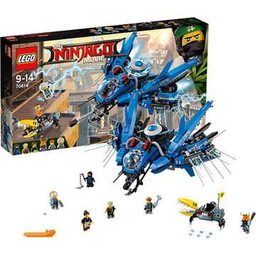 לגו מגה סטור סרט הנינג'גו LEGO Lightning Jet 70614