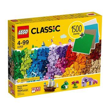 LEGO Bricks Bricks Plates 11717 לגו מגה סטור קלאסיק