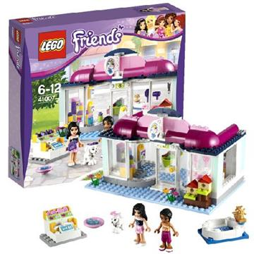 לגו חברות LEGO Heartlake Pet Salon 41007