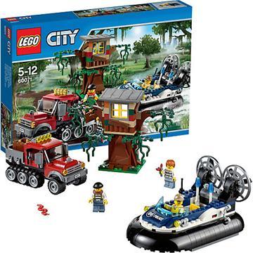 לגו סיטי LEGO Hovercraft Arrest 60071
