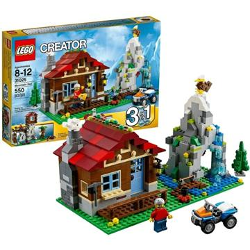 לגו קריאייטור LEGO Mountain Hut 31025