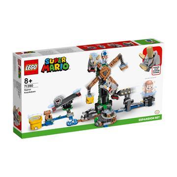 לגו מגה סטור סופר מריו 71390 LEGO Reznor Knockdown Expansion Set