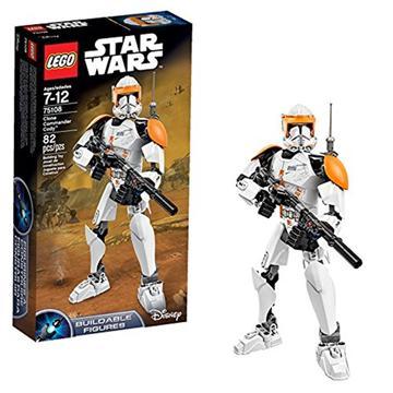 לגו מלחמת הכוכבים LEGO Clone Commander Cody 75108