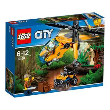 לגו מגה סטור סיטי 60158 LEGO Jungle Cargo Helicopter